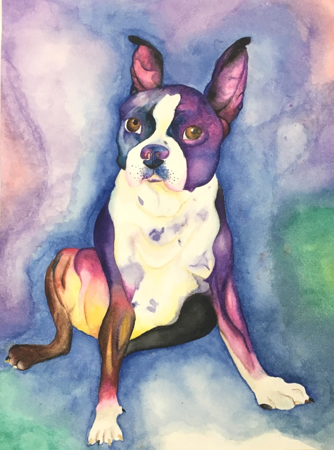 Watercolour_Dog